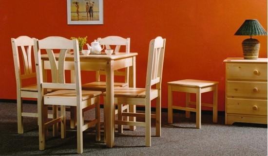 Obrázok z Jedálenský stôl 78x78 prírodný