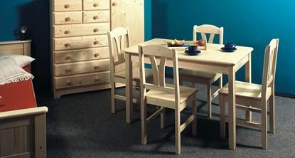 Dřevěný jídelní stůl Gazel.
