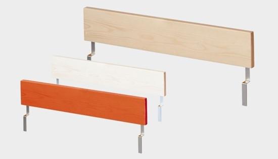 Dřevěný nábytek Gazel, zábrana na postel Native
