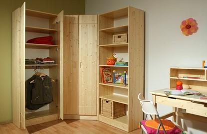Šatní skříň do ložnice i pro dětský pokoj. Gazel