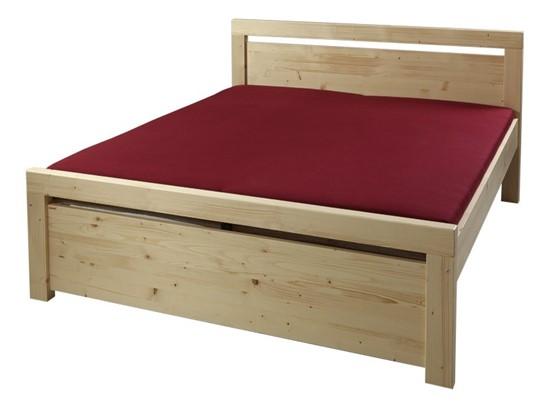 Vysoká postel, dvoulůžko Gazel.