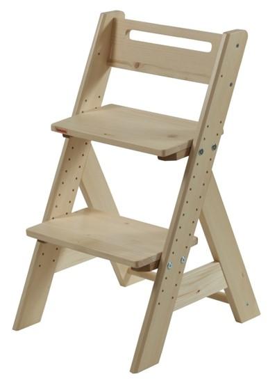 Dětská rostoucí židle z masivu Gazel