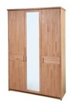 Šatní skříň v provedení buk do ložnice i pro dětský pokoj. Gazel