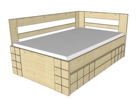 Obrázok pre kategóriu Vysoké postele