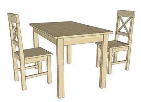 Obrázok pre kategóriu Jedálenské stoly a stoličky