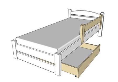 Obrázok pre kategóriu Zásuvky pod postele, zábrany