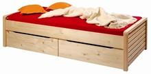 Nábytek z masivu, úložné boxy pod postel Gazel