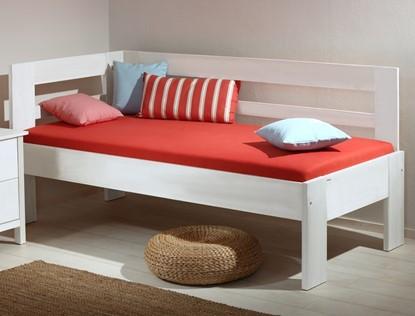 Bílá postel z masivu, Gazel
