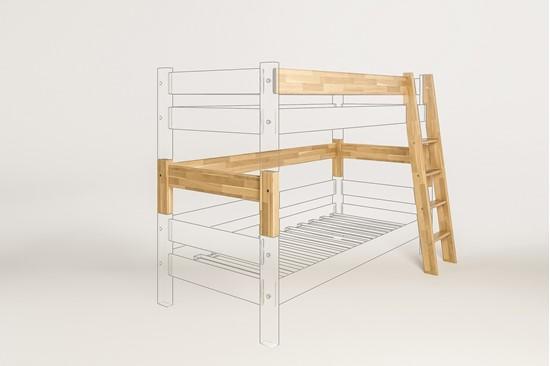 Dřevěný nábytek Gazel, spojovací díl k posteli Sendy buková