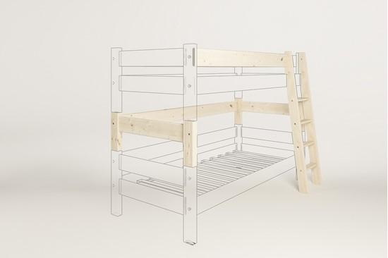 Dřevěný nábytek Gazel, spojovací díl k posteli Sendy