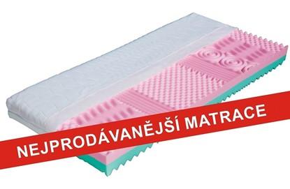 Zdravotní matrace se snímatelným potahem, vhodná do postelí Gazel